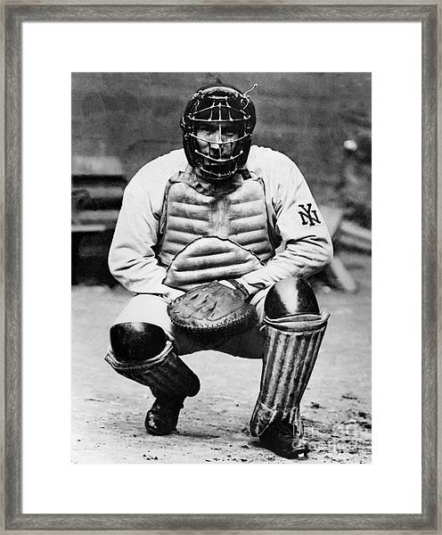 National Baseball Hall Of Fame Library Framed Print