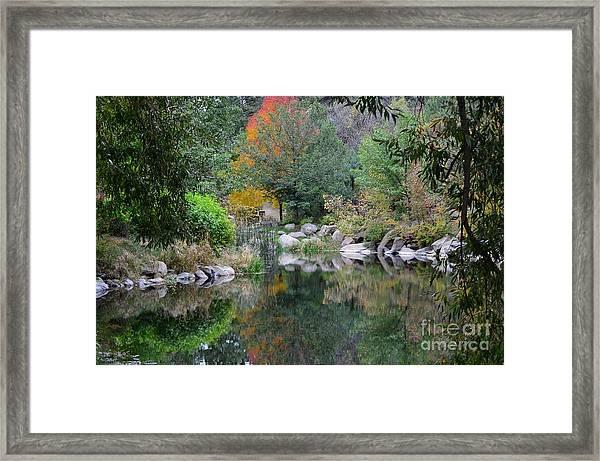Viestenz-smith Park, Colorado September 2012 Framed Print