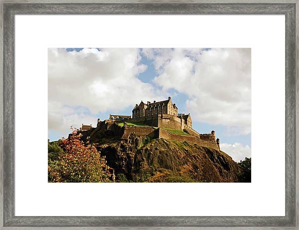 19/08/13 Edinburgh, The Castle. Framed Print