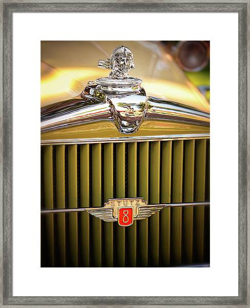 1931 Stutz Model M Framed Print