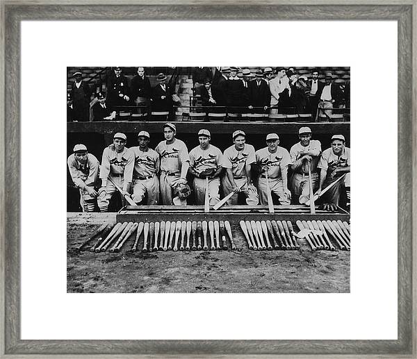 1934 St. Louis Cardinals Framed Print