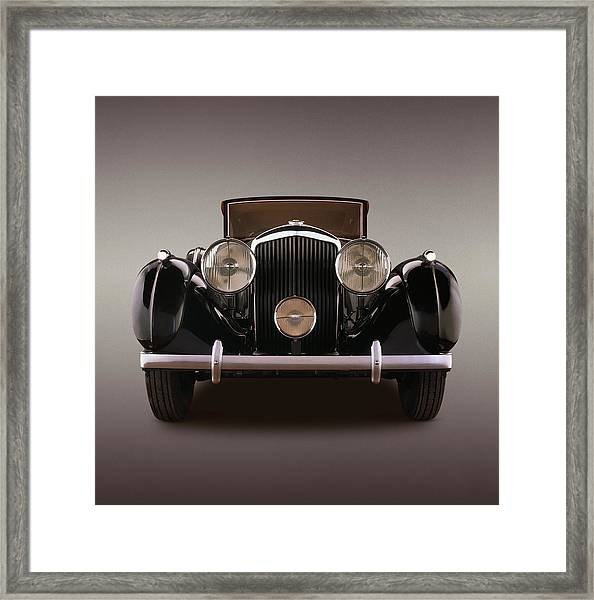 1939 Bentley 4 14 Litre Overdrive, With Framed Print