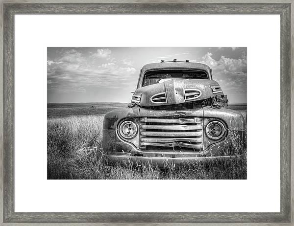 1948 Ford Truck F-3 Framed Print