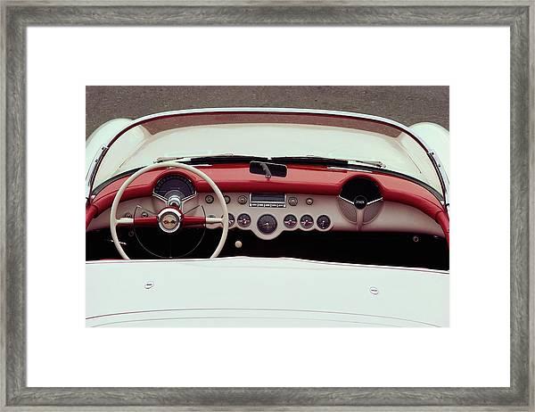 1953 Chevrolet Corvette Convertible Framed Print