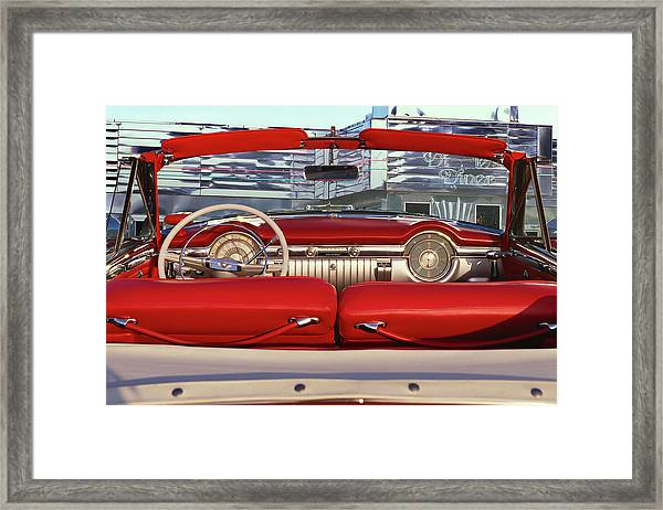 1953 Oldsmobile Rocket 98 Framed Print