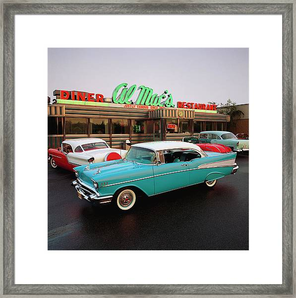 1957 Chevrolet Bel Air Sports Coupe Framed Print