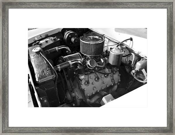 1958 Flathead Merc V8 Framed Print