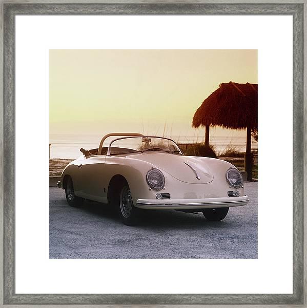 1958 Porsche 365a Carrera Gt Speedster Framed Print