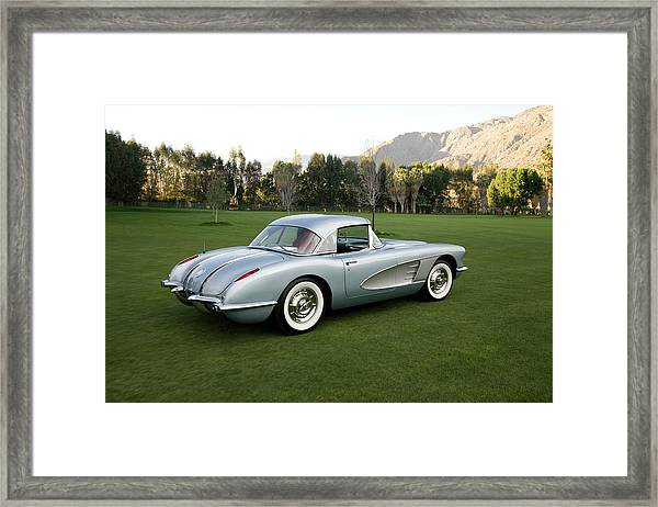 1960 Chevrolet Corvette Framed Print