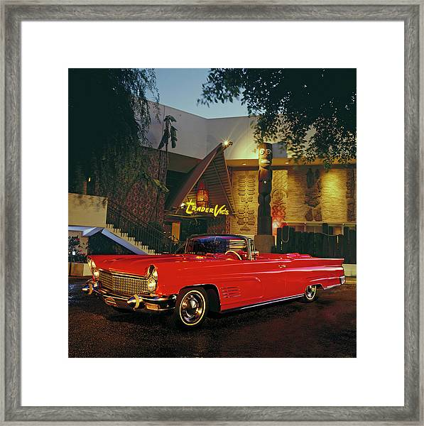 1960 Lincoln Continental Mark V Framed Print
