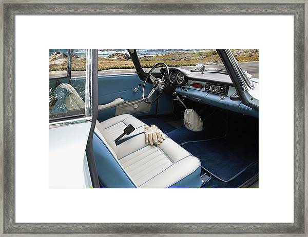 1964 Alfa Romeo Giulia Ss Framed Print