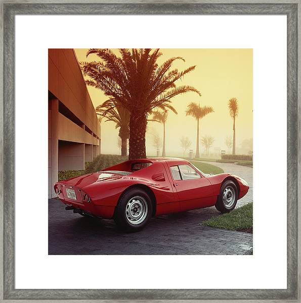 1964 Porsche 904 Carrera Gts Framed Print by Car Culture