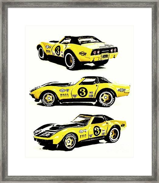 1969 Chevrolet Copo Corvette Framed Print