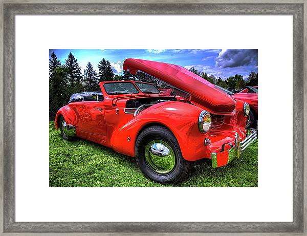 1969 Cord Automobile Framed Print