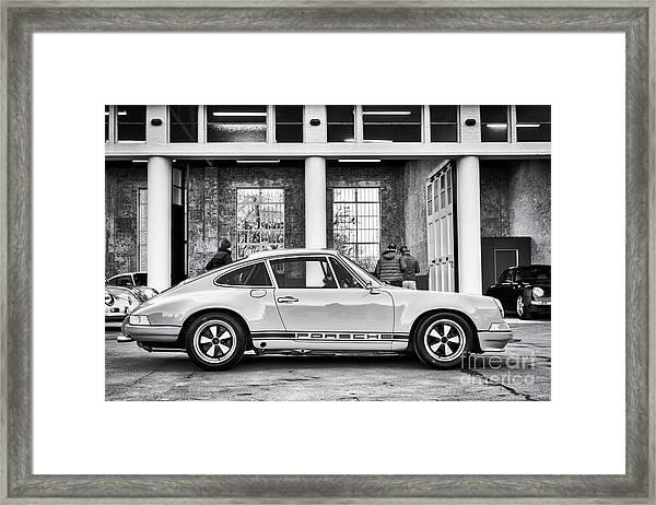 1972 Porsche 911 Monochrome Framed Print