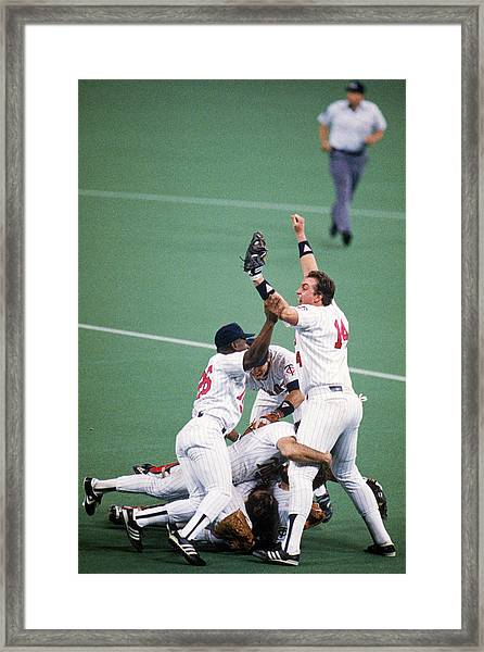 1987 World Series  St. Louis Cardinals Framed Print