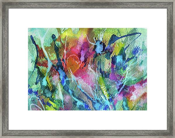 Abstract 224 Framed Print