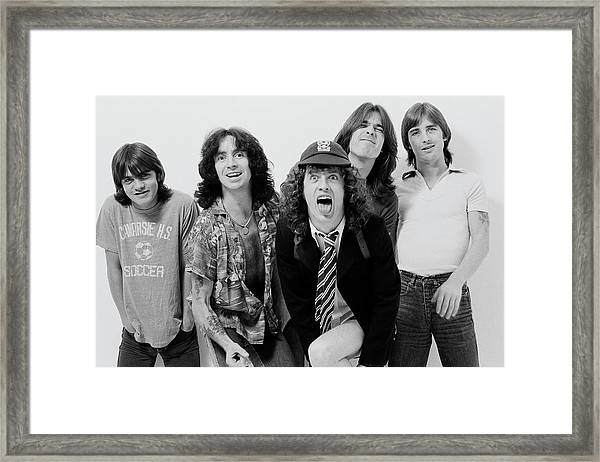 Acdc In London Framed Print