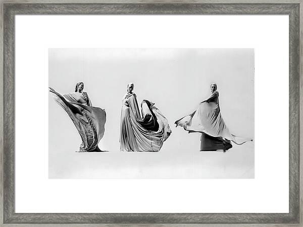 Adrian Misc Framed Print by Gjon Mili