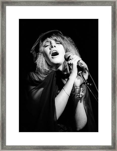 Fleetwood Mac Live Framed Print by Ed Perlstein