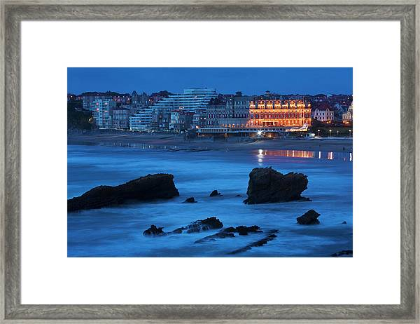 France, Pyrenees Atlantiques, Pays Framed Print