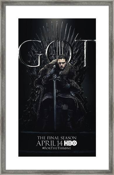 Game Of Thrones Framed Print