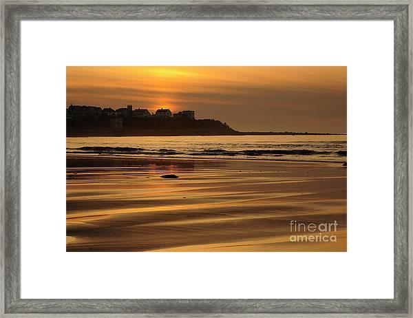Hampton Beach, New Hampshire Framed Print
