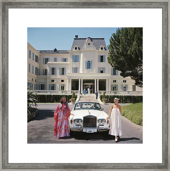 Hotel Du Cap-eden-roc Framed Print by Slim Aarons