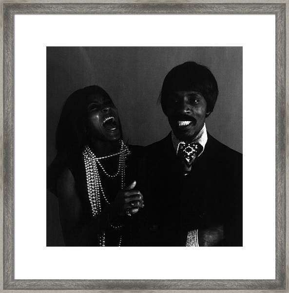 Ike And Tina Turner Framed Print by Jack Robinson