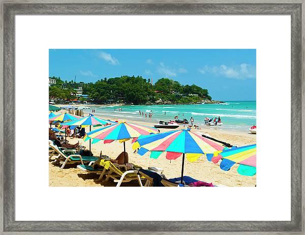 Kata Beach, Phuket, Thailand Framed Print