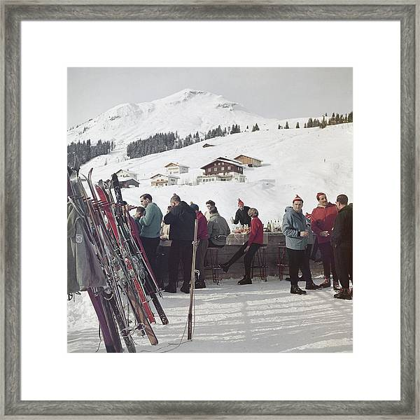 Lech Ice Bar Framed Print
