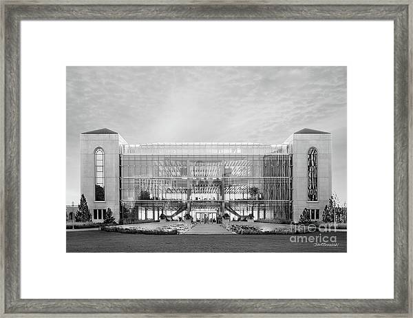Loyola University Klarchek Commons Framed Print