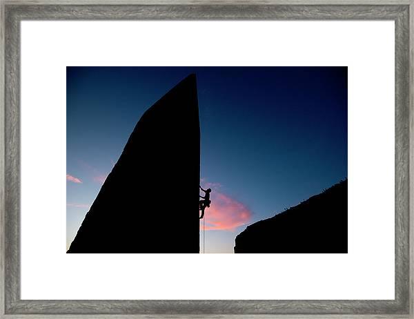 Malta Sport Climbing 2012 Framed Print