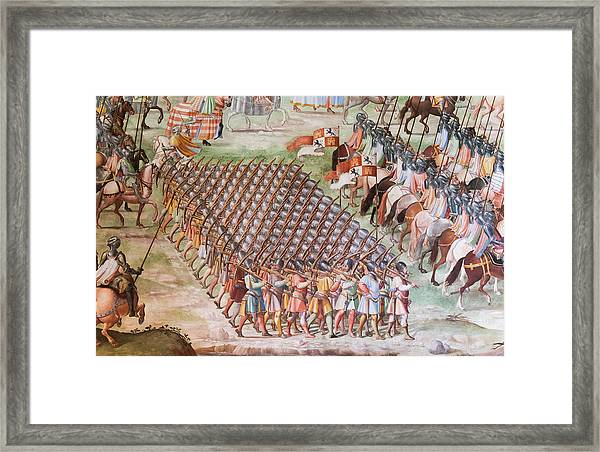 Monastery, El Escorial, Spain Framed Print by Ken Welsh