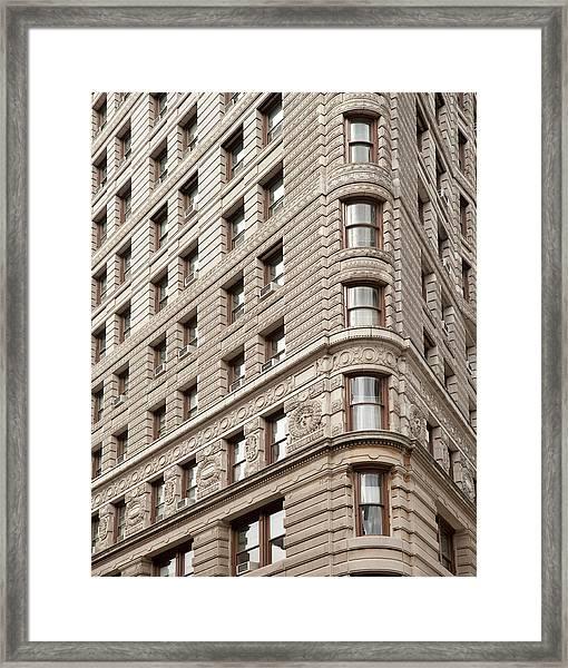New York City, New York State, Usa Framed Print