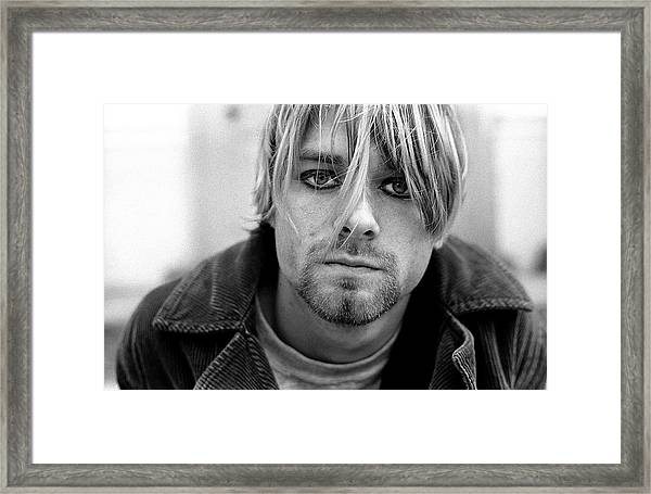 Nirvana In Shepherds Bush Framed Print