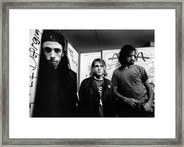 Photo Of Nirvana Framed Print by Paul Bergen
