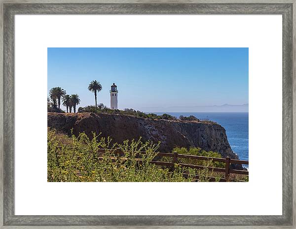 Point Vicente Lighthouse Framed Print