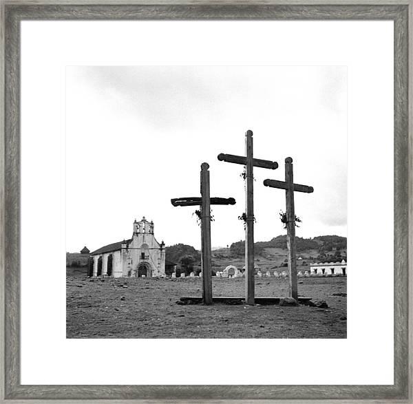 San Juan Chamula, Mexico Framed Print by Michael Ochs Archives