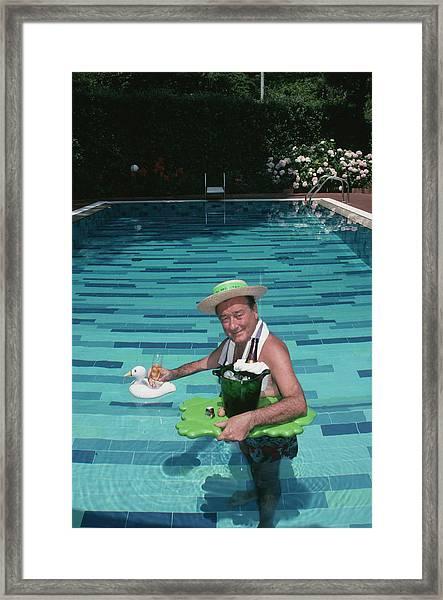 Sirio Maccioni Framed Print