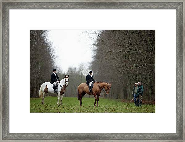 The Beaufort Hunt, Gloucestershire Framed Print by Brent Stirton