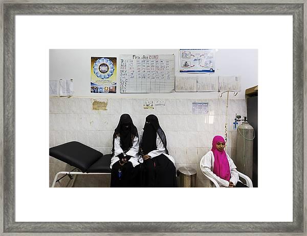 The Republic Of Yemen Framed Print by Brent Stirton