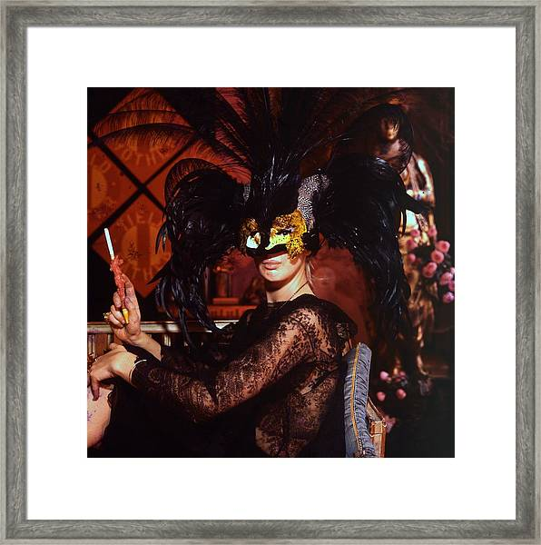 Tiger Morse Framed Print