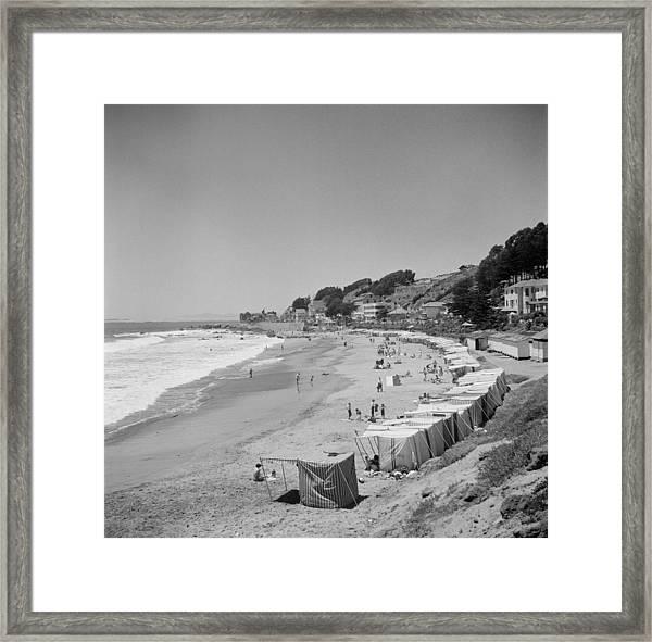 Valparaiso, Chile Framed Print by Michael Ochs Archives