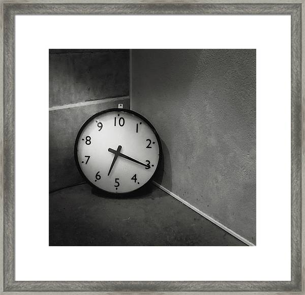 Framed Print featuring the photograph 20 Hours Day by Juan Contreras
