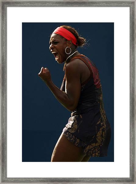 2006 U.s. Open Tennis - Day 4 Framed Print