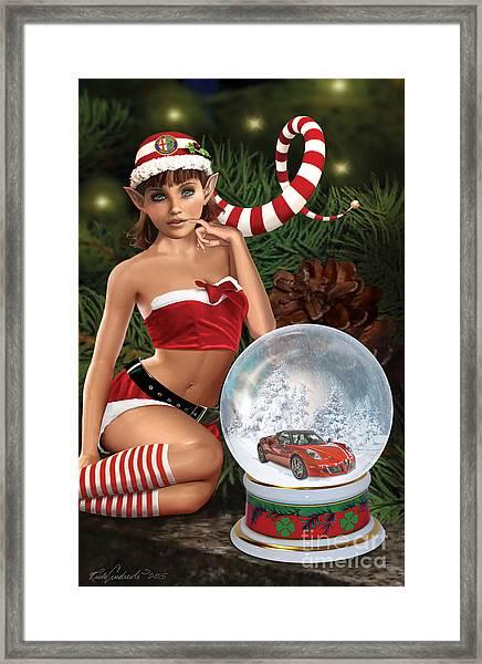2015 Alfa Club Christmas Card Framed Print