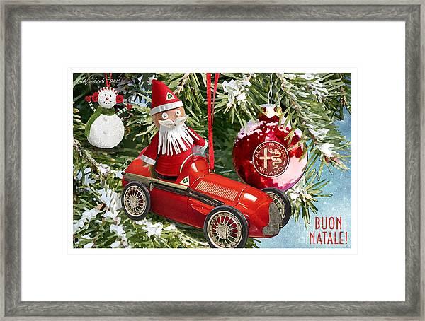 2016 Alfa Club Christmas Card Framed Print