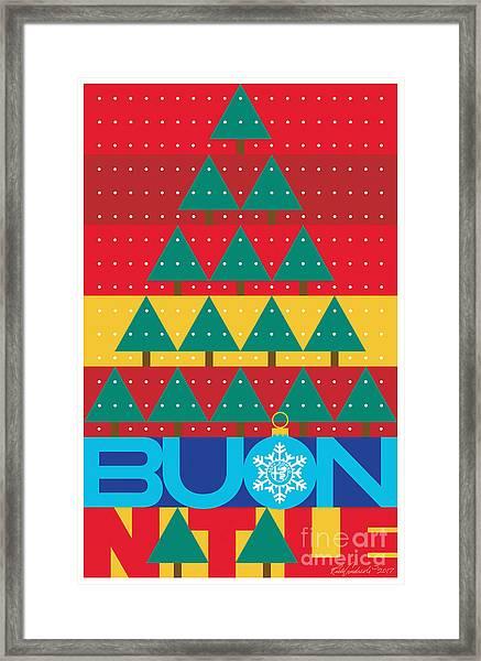 2017 Alfa Club Christmas Card Framed Print