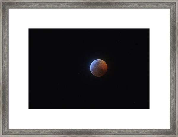 2019 Lunar Eclipse Framed Print